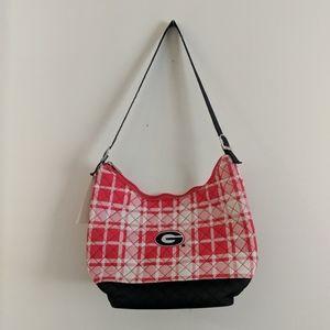 UGA Georgia bulldogs quilted purse